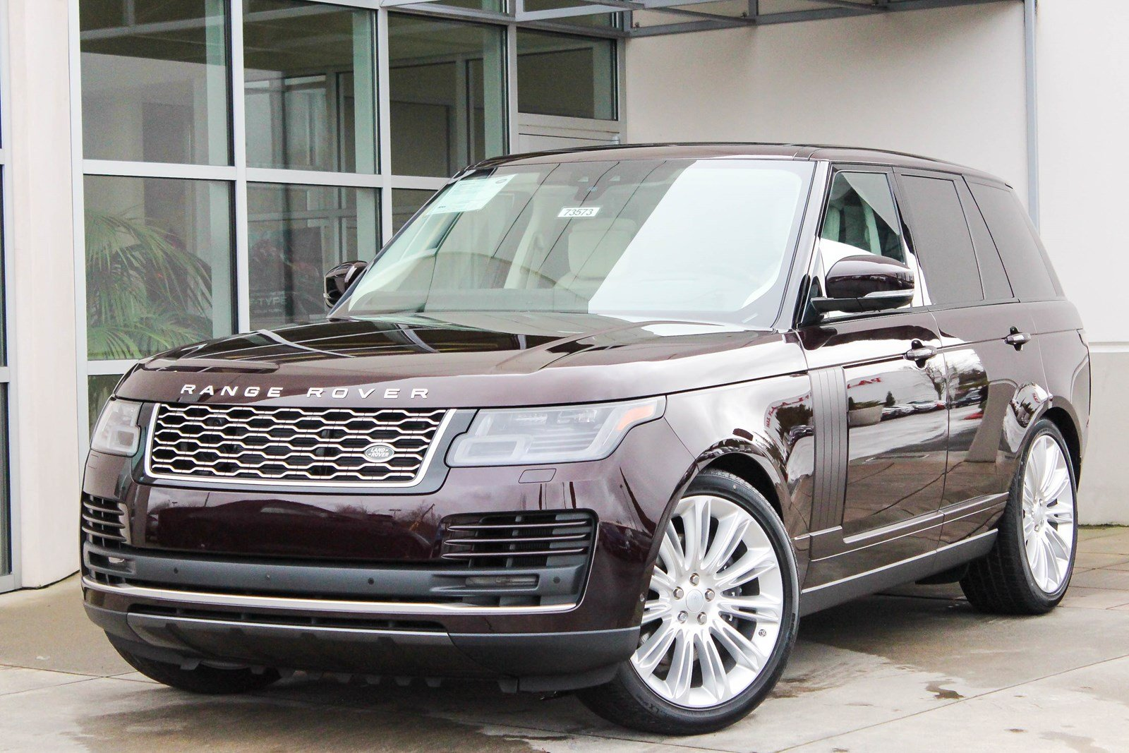 New 2018 Land Rover Range Rover Hse Sport Utility In