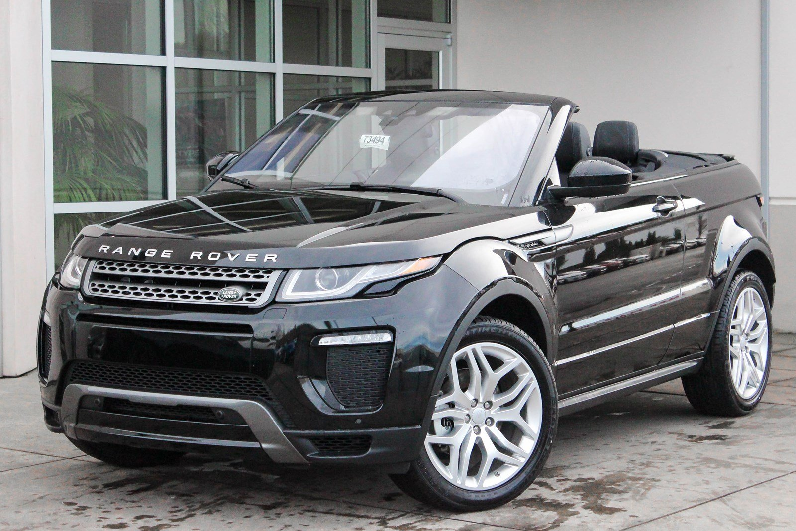 new 2018 land rover range rover evoque se dynamic convertible in bellevue 73494 land rover. Black Bedroom Furniture Sets. Home Design Ideas